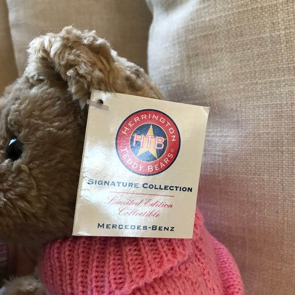 Herrington mercedes benz herrington teddy bear w tags for Mercedes benz bear