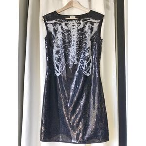 Rodarte Dresses & Skirts - Rodarte for Target Sequin Rib Cage Mini Dress