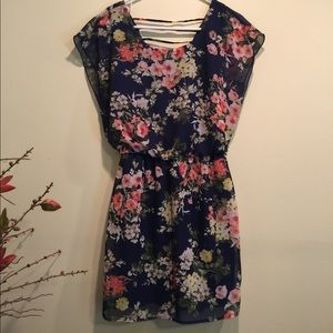 Cute summer floral dress City Triangle