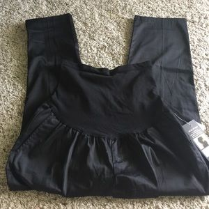 Oh Baby by Motherhood Black Maternity Dress Capri