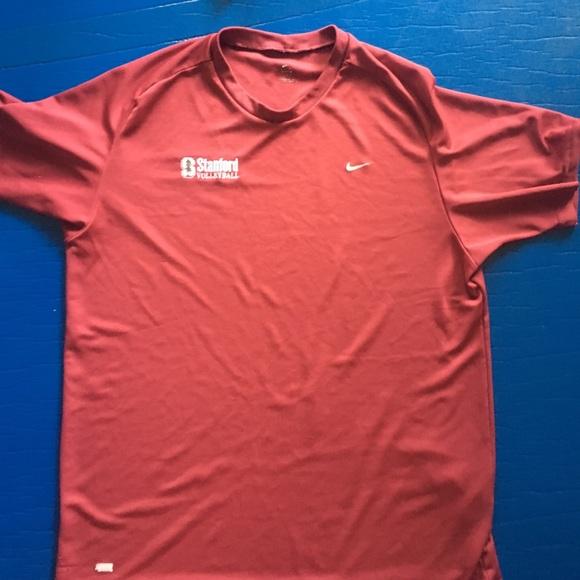 73240633165 Source · Nike Shirts Maroon Drifit Stanford Volleyball Shirt Poshmark