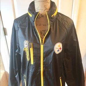 new style 52358 12970 NWT - Men's Pittsburgh Steelers Rain Jacket Boutique