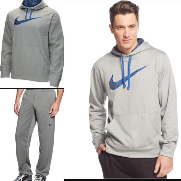 cd5e3bdf9b33 Nike Camo KO swoosh hoodie w Therma fit pants sz M.  M 592330295a49d0df2f0d6565