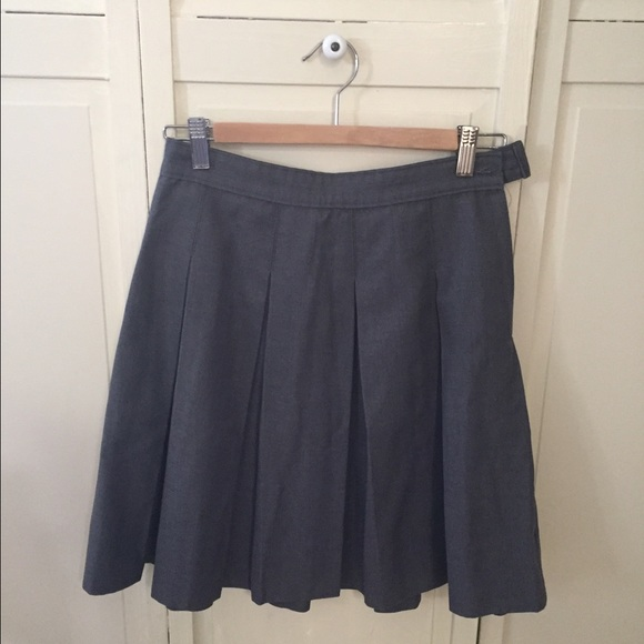 85a52f31d8 Dennis Uniform Skirts | Gray Pleated Skirt Girls Size 14 | Poshmark