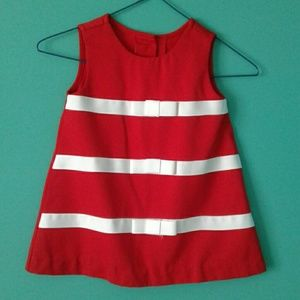 Rare Editions Other - Red toddler dress