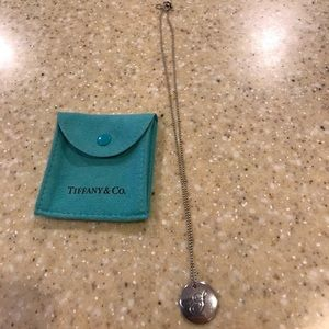 Tiffany & Co. Jewelry - Tiffany and co sterling silver S monogram necklace