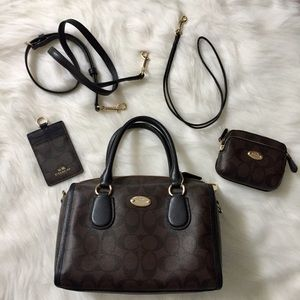 Coach Handbags - 5 Piece Coach Handbag Set LIKE NEW