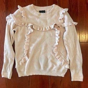 Topshop Sweaters - Topshop Ruffle Sweater