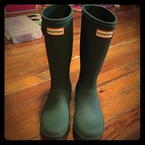 Hunter Boots Other - Green Hunter Boots