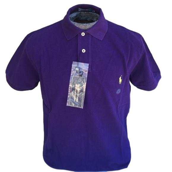 ad2ee69cc Ralph Lauren Custom Fit Mesh Polo Purple NO OFFERS