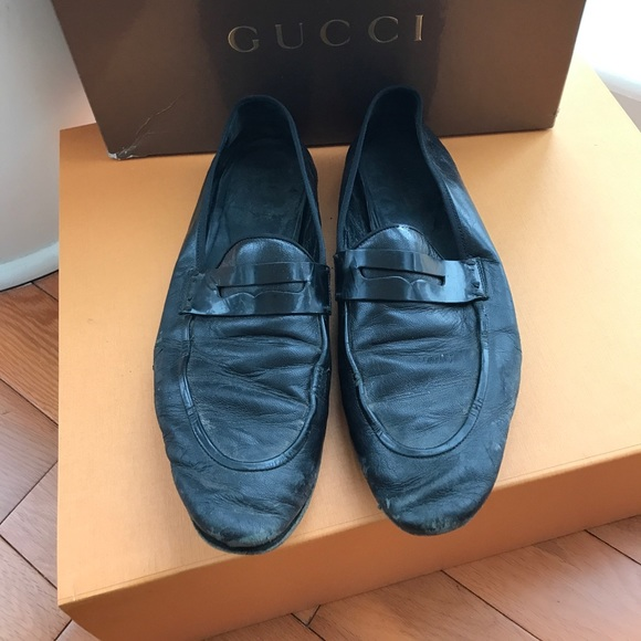 fe5f5ca03bf Gucci Other - Men s very used Gucci black loafers