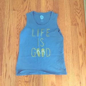 Life is Good tank