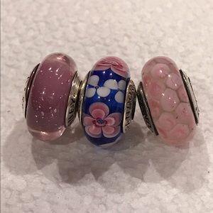 Pandora Jewelry - 3 Pandora charms