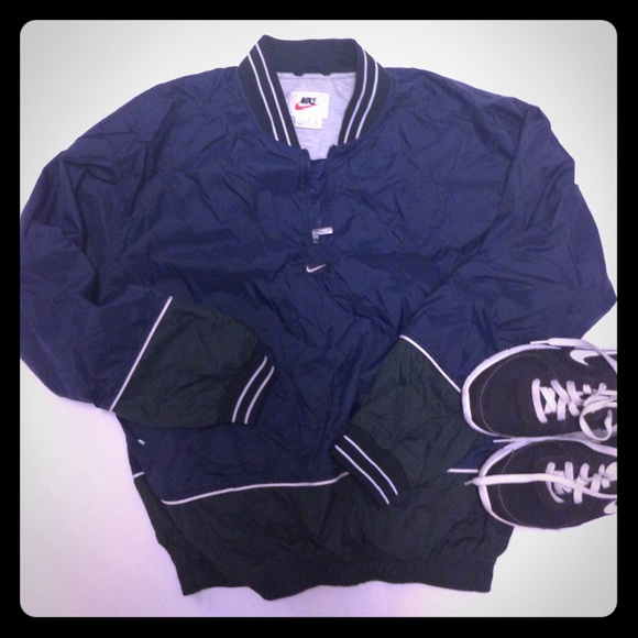 available super cheap really comfortable S A L E 🎉Vintage Nike 1/4 Zip Bomber Jacket