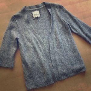 Heritage 1981 Sweaters - Gray Wool Cardigan