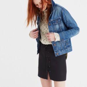 Madewell Dresses & Skirts - NWT // Madewell Lace Up Skirt