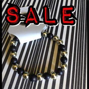 Jewelry - 3 FOR $15.                 Black & Silver Bracelet