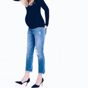 Ingrid & Isabel Denim - Ingrid & Isabel maternity boyfriend jeans size 29