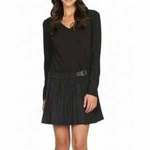 1. State Dresses & Skirts - 1. State Black Women's  Pleated Black Dress NWT