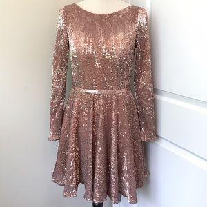 La Femme Dresses & Skirts - La Femme Sequins Dress