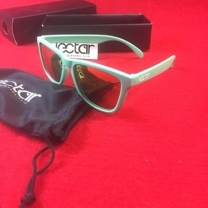 Nectar Accessories - Nectar Polarized KIWI Sunglasses Mint / Orange New