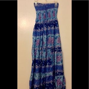 Dresses & Skirts - Dress Strapless, tie at neck optional. NWOT OS