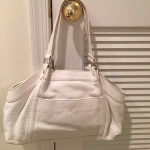 Hogan Handbags - Hogan (Tods) white leather purse