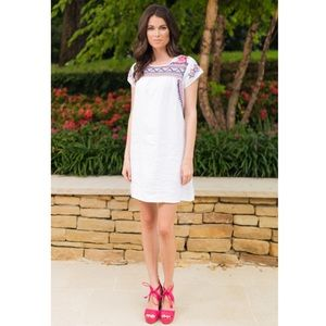 Johnny Was Dresses & Skirts - 🆕 JWLA Johnny Was Embroidered Linen Tunic Dress