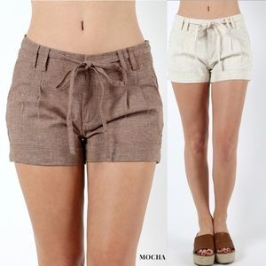 Pants - 🆕 LINEN SHORTS