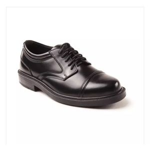 Deer Stags Other - Deer Stags Telegraph Black Leather Oxford Orthotic