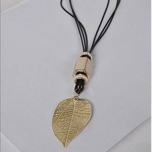 Gold / Silver Leaf Necklace