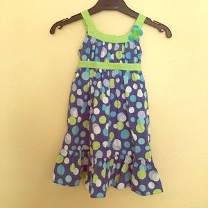 Youngland Other - Blue and Green Tank Dress