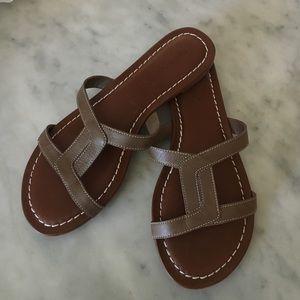 Bernardo Shoes - NWT Bernardo Leather Sandals/Slides, 9M