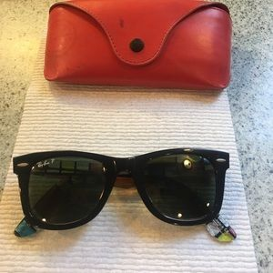 SPECIAL EDITION ray-ban wayfarer sunglasses POLAR