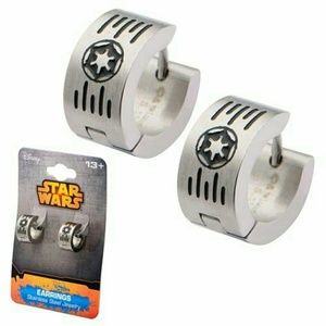 Jewelry - Star Wars Imperial Cog and Grate Logo Earrings