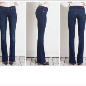 New Henry & Belle Mini Micro Flare Jeans 'Rustic'