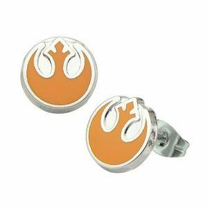 Jewelry - Star Wars Rebel Alliance Symbol Earrings