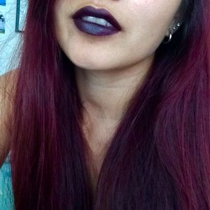MAC Cosmetics Makeup - MAC Smoked Purple Lipstick