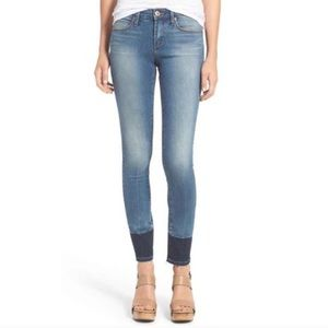 Articles Of Society Denim - Articles of Society Colorblocked Skinny Jean