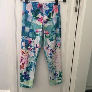 Zara Terez Pants - Zara Terez x Soulcycle crop leggings