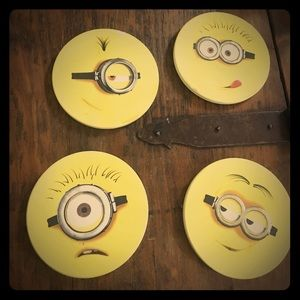 Other - Despicable Me Minion Coasters
