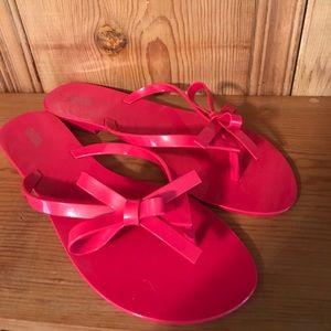 Melissa Shoes - Melissa Pink Jelly Flats