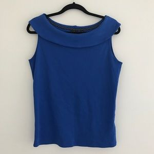 Rafaella Tops - Blue Tank Top