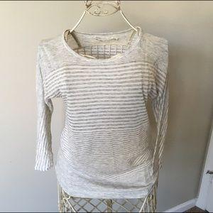Madewell Hi-Line 3/4 Sleeve Shirt - Size Small