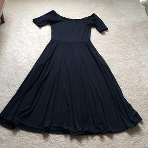 Rachel Pally Dresses & Skirts - Fit and flare, off shoulder dress. NWOT