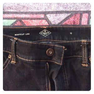 St, John's Bay Dark Denim Jeans
