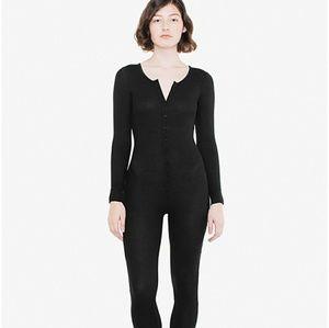 American Apparel Pants - PRICE FIRM NWOT AMERICAN APPAREL THERMAL BODYSUIT
