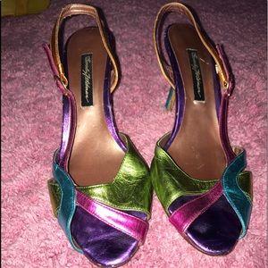 Beverly Feldman Shoes - Fun Colorful Heels