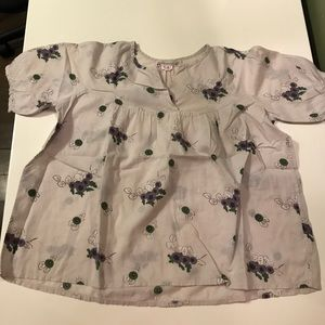 Bonpoint Other - Bonpoint Size 6 Girls Floral Blouse