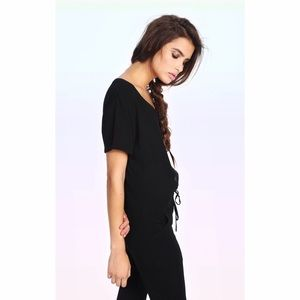2bad14e60c0f Wildfox Other - wildfox travel jumpsuit black